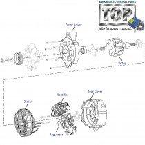 Alternator Components  1.4 Turbo  Indica V2
