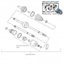 Driveshaft| 1.4 NA Diesel| Indica V1| V2