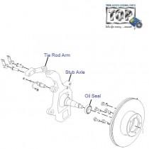 Front Axle| 4x2| 2.2 Dicor| Safari (Pre-2008)