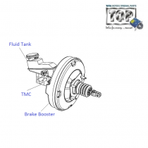 Brake Booster| 1.2 Safire| Vista Sedan Class
