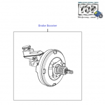 Brake Booster| 1.3 Quadrajet| Vista Sedan Class