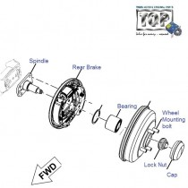 Rear Hub & Brake| 1.4 TDI| Vista