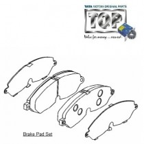 Brake Pads| Front| 3.0L DiCOR| Safari