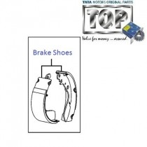 Brake Shoes| Rear| 1.4 Safire| Vista