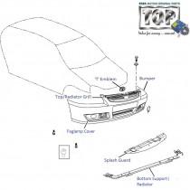 Bumper| Front| 1.4 DICOR| Indigo CS