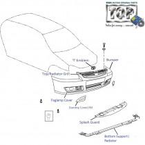 Bumper| Front| 1.4 CR4| Indigo CS