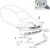Bumper| Front| 1.4 DICOR| Indigo