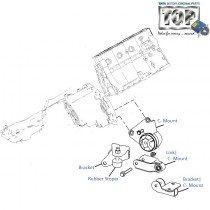 Engine C-Mount| 1.4 Turbo/TCIC| Indica V2