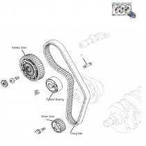 Camshaft Drive Belt & Pulleys| 1.4 Safire| Manza| Vista