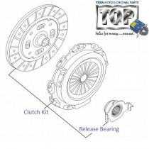 Tata Indica Vista Clutch Plate Kit 1.3 quadrajet diesel