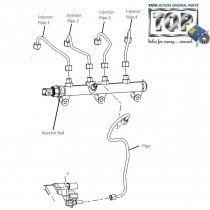 Injector Pipes| 2.2 DiCOR| Safari| Safari (2008+)