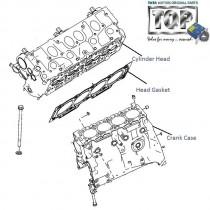 Head & Crankcase| 1.4 NA Diesel| Indica V1| V2