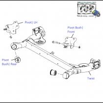 Dead-Axle|Rear| Vista Sedan Class