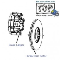 Brake Disc & Caliper| Front| Safari Storme