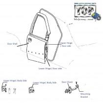 Door & Hinges| Front-RH| Indica| V1| V2| eV2