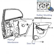 Door Pad| Rear-RH| Manza Club Class