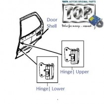 Door & Hinges| Rear-LH| Safari Storme