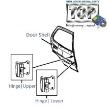 Door & Hinges| Rear-RH| Safari Storme