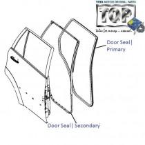 Weather Seal  Door  Rear  Aria
