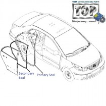 Door Weather Seal| Rear| Manza| Manza Club Class