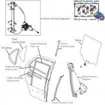 Door Glass| Rear-RH| Indica V2