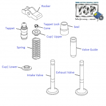 Engine Valves| 1.3 QJet 90PS| Vista D90