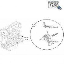 Engine B-Mount| 1.3 QJet| Manza| Vista