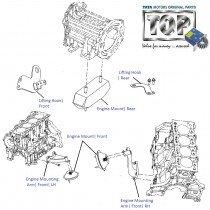 Engine Mount| 2.2 DiCOR| Safari| Safari (2008+)