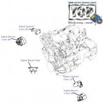 Engine Mount| 3.0L Diesel| Sumo Victa
