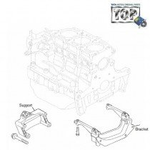 Engine Mounts| 1.3 QJet| Manza| Vista