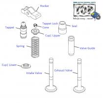 Engine Valves  1.3 QJet 90PS  Vista D90
