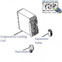 Evaporator Coil| 1.4 NA Diesel| Indica V2