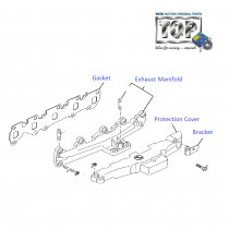 Exhaust Manifold| 1.3 QJet 90PS| Vista D90