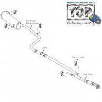 Exhaust Pipes| 1.2 Safire| Vista