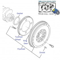 Flywheel| 1.3 QJet| Manza| Vista