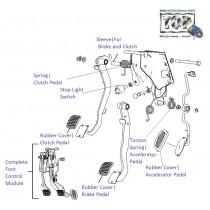 Foot Control Module| 1.4 Dicor| Indica V2