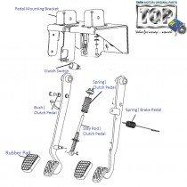 Components| Foot Control Module| Safari| Safari (2008+)