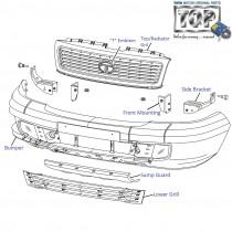 Bumper| Front| 3.0L DiCOR| Safari