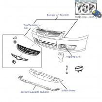 Bumper| Front| Indigo eCS