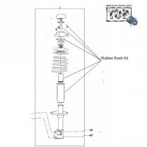 Rubber Bush Kit| Front Suspension| Indica V1