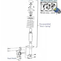 Front Suspension| 1.4 DICOR| Indica V2