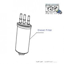 Fuel Filter| 2.2 DiCOR| Xenon XT