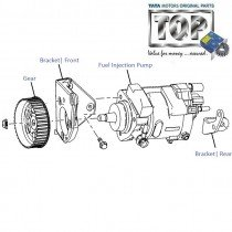 Injection Pump| 2.2 DiCOR| Safari| Safari (2008+)