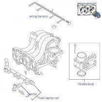 Injectors & Fuel Rail| 1.2 Safire| Vista