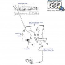 Fuel Injector & Injector Rail| 1.4 CR4| Indigo eCS