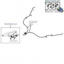 Handbrake System| 1.2 Safire| Vista
