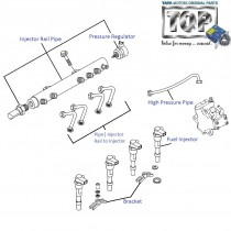 Fuel Injector & Injector Rail| 1.3 QJet| Vista