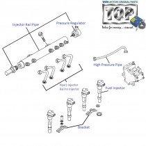 Fuel Injector & Injector Rail| 1.3 QJet| Vista