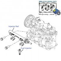 Fuel Injector & Injector Rail| Nano