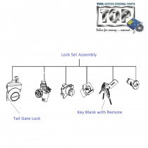 Lock Set Kit| Vista D90